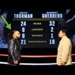 Keith Thurman Vs. Robert Guerrero Fight Prediction
